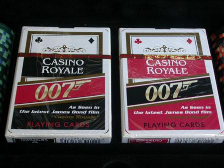 Casino royale poker chips james bond