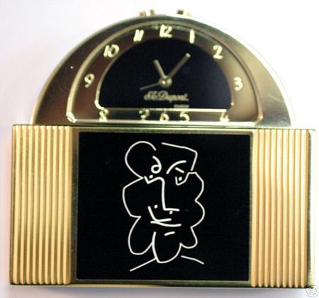 Picasso 1997 Picasso Carriage Clock